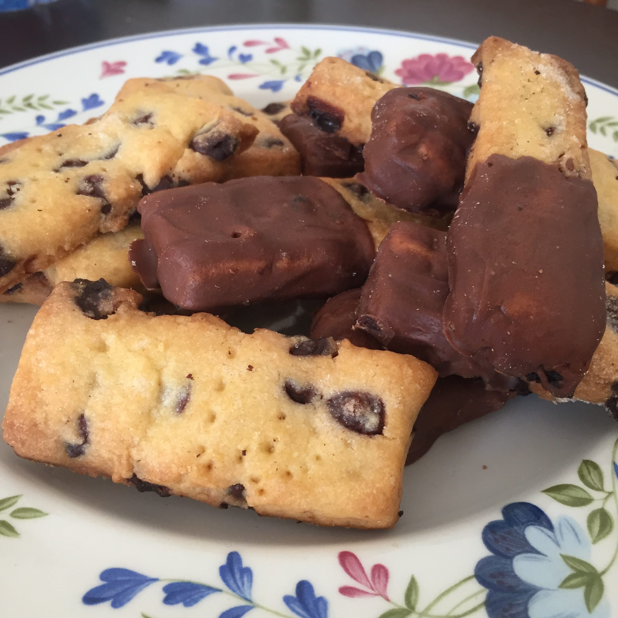 Chocolate Chip Shortbread